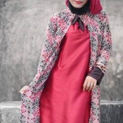Kumpulan Model Gamis Batik Kombinasi yang Laris