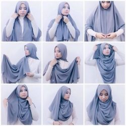 Model Baju Pesta Muslim Modern Masa Kini