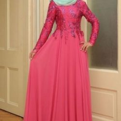 Model Kebaya Brokat Muslim Modern Masa Kini